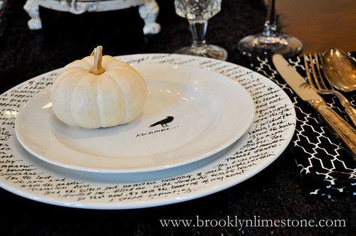 DIY: Make your own Halloween dinnerware