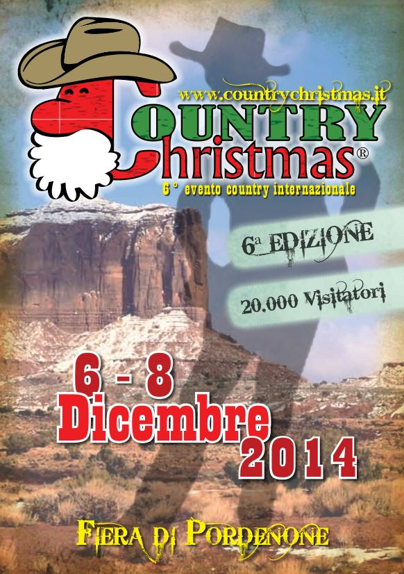 E' una salone unico nel panorama fieristico italiano, Country Christmas l'evento country internazionale in programma alla Fiera di Pordenone dal 6 all'8 dicembre 2014. www.countrychristmas.it