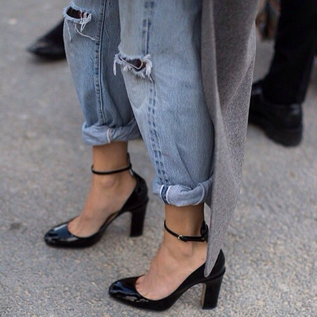 Rolled up. Details in street style.