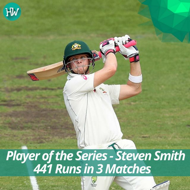 Steve Smith's captaincy and batting performance played an integral part in Australia's 3-0 win against Pakistan! #AUSvPAK #BBL06 #smith