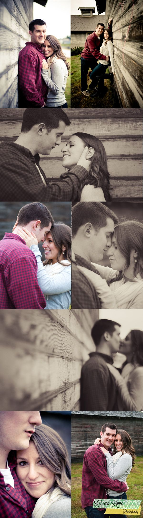 Love these engagement shots  Photographer | Rebecca Anne