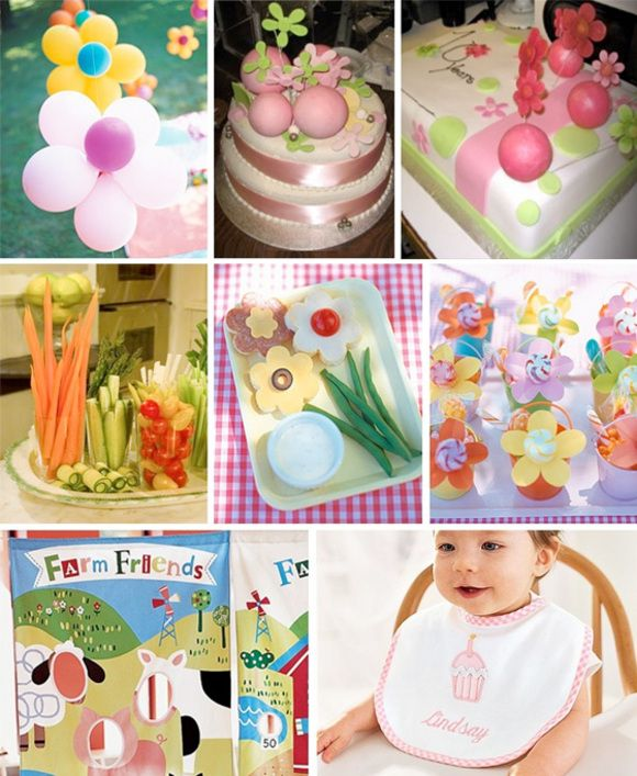 1st B-day party ideas