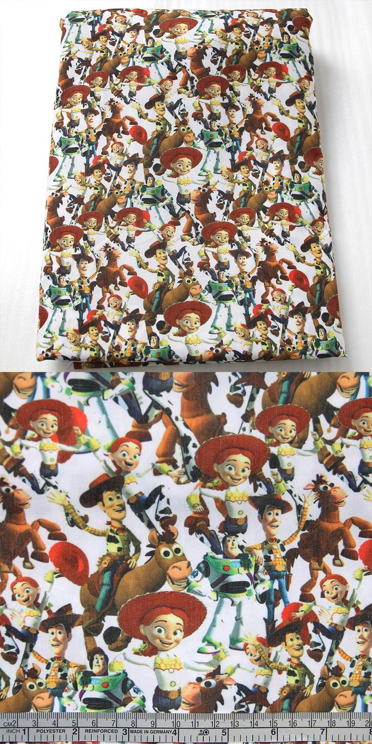 Jessie from toy story bedding -  Visit To Buy 50 147cm Cartoon Toy Story Fabric Patchwork Cotton Fabric For