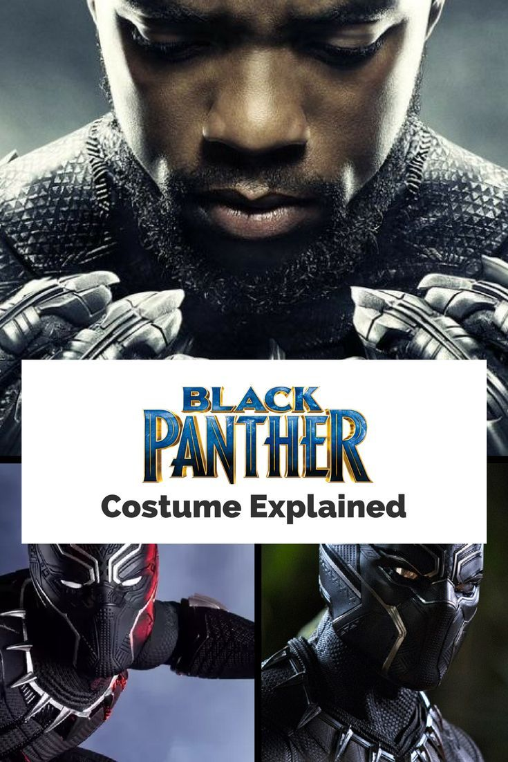 The Black Panther Costume Explained - 2018 Movie and Comics  The ruler of the Wakandan Panther Clan is crowned with a ceremonial regalia in the form of a Vibranium laced panther costume. T'Challa received his first suit only after being judged by Bast, the Panther Goddess. The appearance of the costume has changed over time, from the first design that never made it to print to how we see it in the Black Panther Movie Trailer by Marvel.  Click the image to read more.