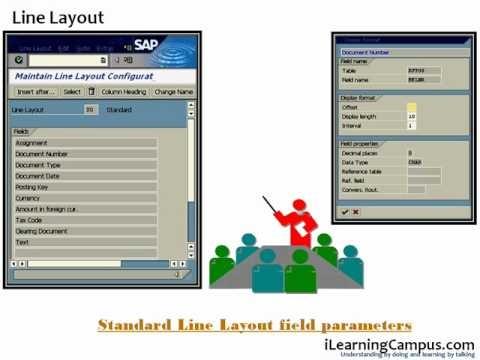 Chapter 22 - SAP ERP FI (Finance) Sort Keys, Line Layout and Total Variants