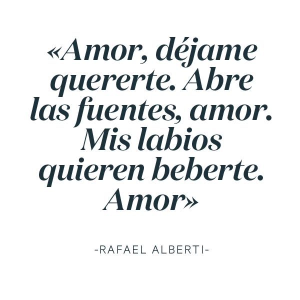 #LoveratoryQuotes #Alberti #loveratoryquotes #lovequotes #poetryquotes #poetry #love #libros #paperisnotdead #paperslovers