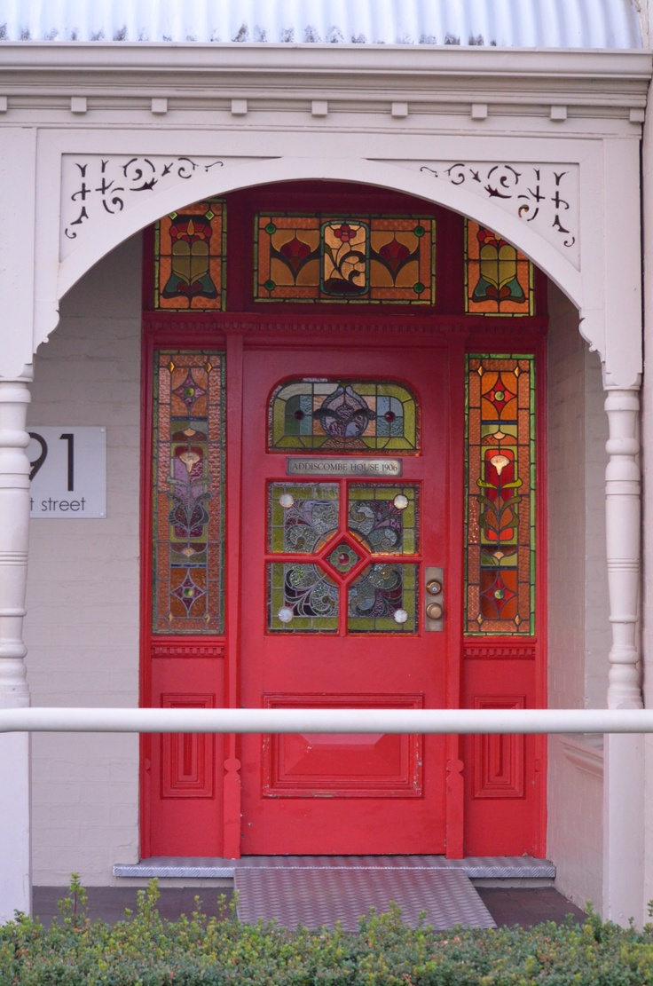 Red door Mt Lawley