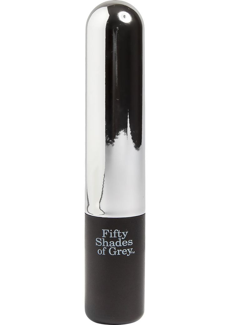 Fifty Shades Of Grey Pure Pleasure Usb Vibrating Bullet Waterproof Chrome