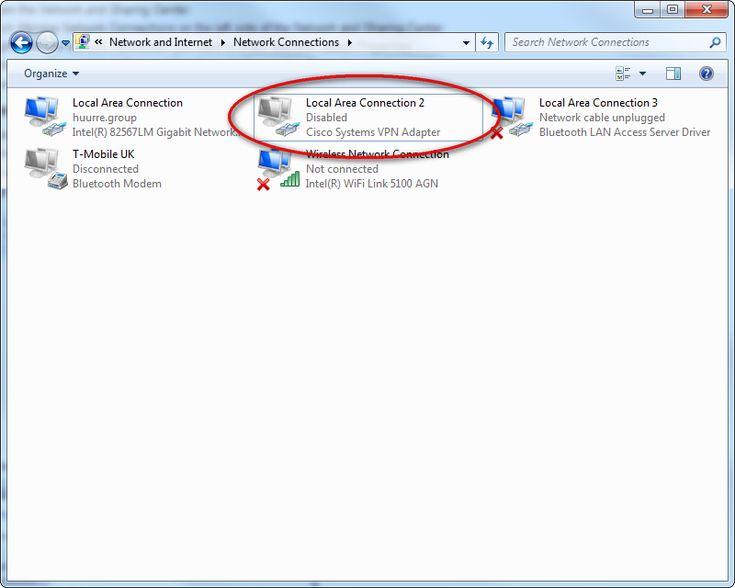 Cisco systems vpn adapter скачать