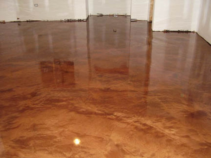 Basement Floor Decorative Concrete Kingdom Plainfield