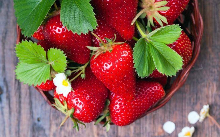 best food for stronger erection - strawberries