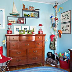 Fishing Themed Room