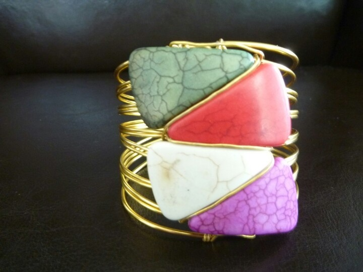Gem stone Bracelet at www.fashionboutique.co.za- made by humans for humans