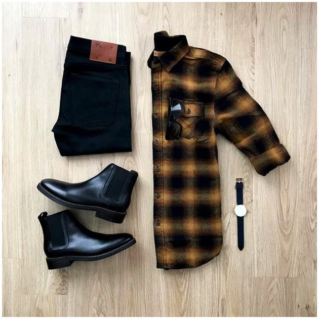 100 Best Smart Casual Outfit Ideas for Men This Year - The Hust Best Smart Casual Outfits, Stylish Mens Outfits, Business Casual Men, Men Casual, Casual Shirts For Men, Casual Wear, Elegantes Business Outfit, Outfit Grid, Mode Streetwear