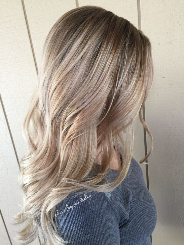 Highlights and Shadow Root Blonde / Balayage