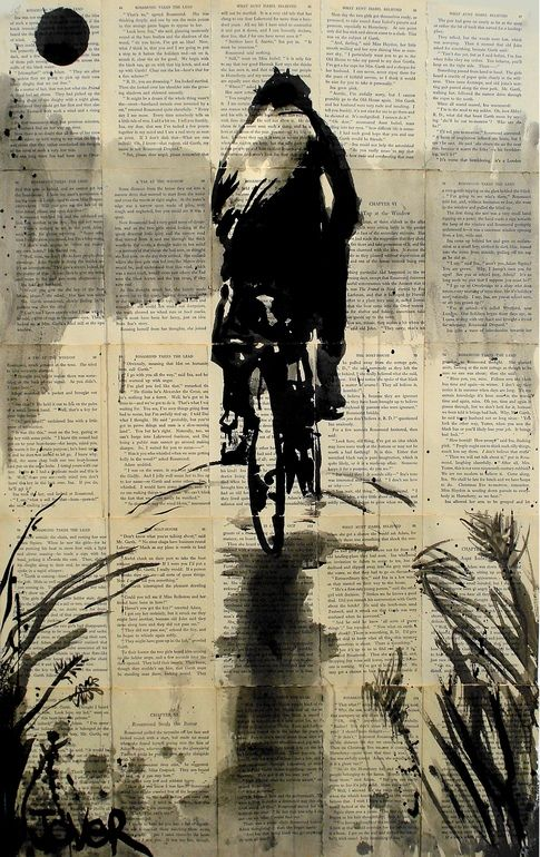 Saatchi Online Artist: Loui Jover; Pen and Ink, Drawing homeward bound