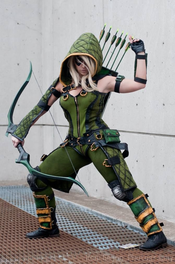 Female Green Arrow  #cosplay #Rule63