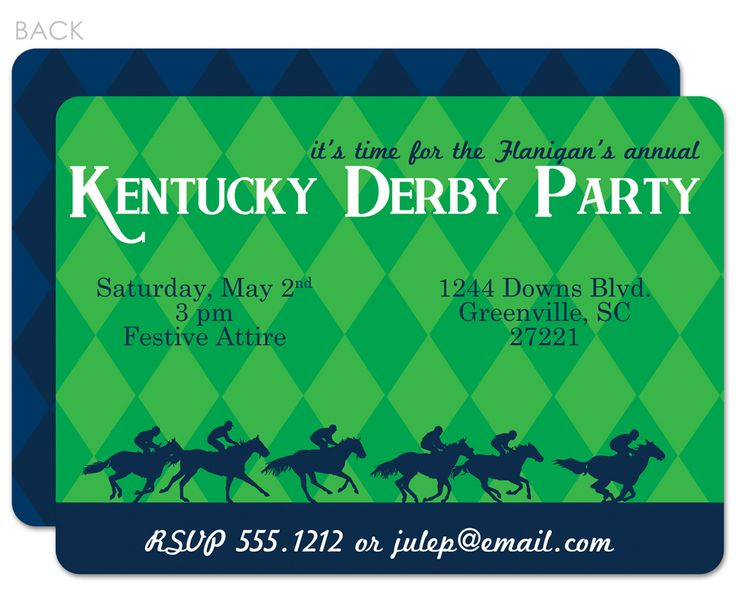 58 best kentucky derby party images on pinterest   kentucky derby, Party invitations