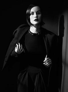 Мишель Докери — Фотосессия для «Vogue» IT 2013 – 4