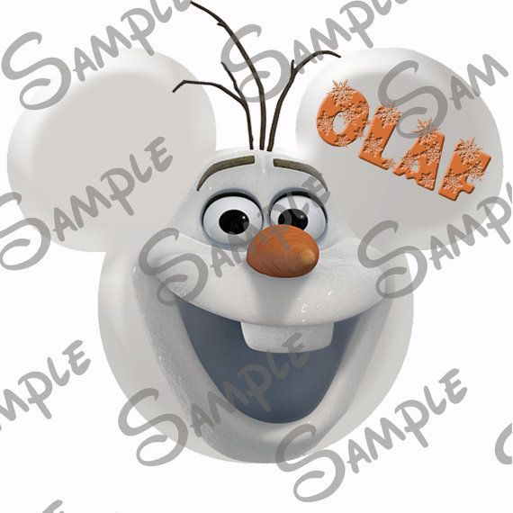 DIGITAL printable Frozen Olaf Character by PixieDustDesignsbyMe, $3.99