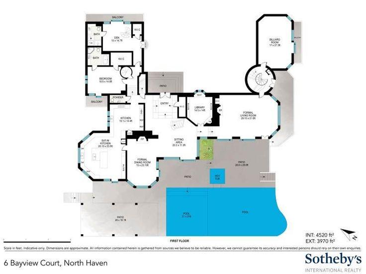 1164 best images about matched up complete floor plans on pinterest craftsman mansion floor - Mansion house plans consummate refinement ...