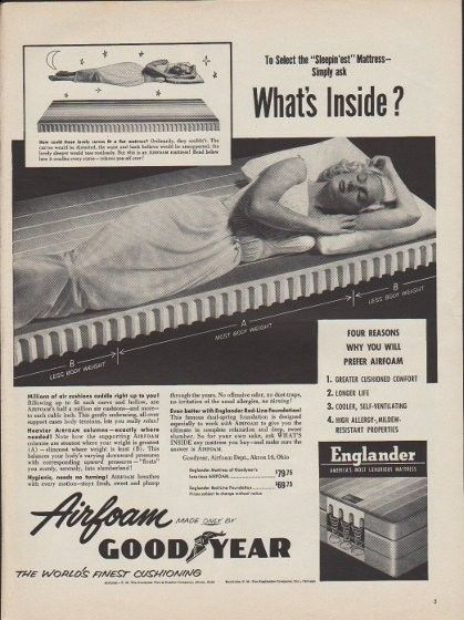 1953 Goodyear Ad What S Inside