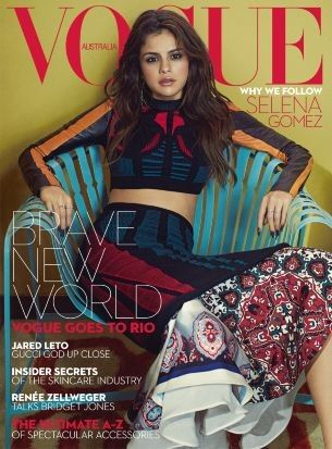 First Look: Selena Gomez covers Vogue Australia's September 2016 issue