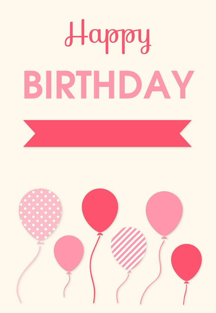#Birthday #Card Free Printables - 100's to choose from!  Click to Print!