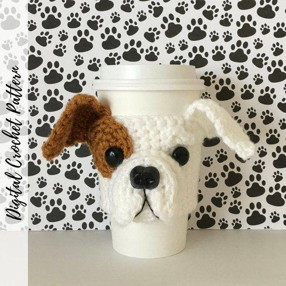 Bulldog Puppy Crochet Pattern, Bulldog Pattern, Crochet Dog Pattern ...