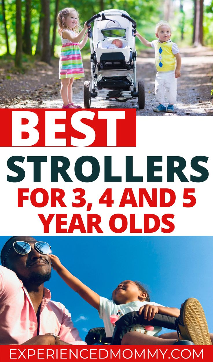 Best Stroller for 3, 4 and 5 Year Olds Big Kids Need