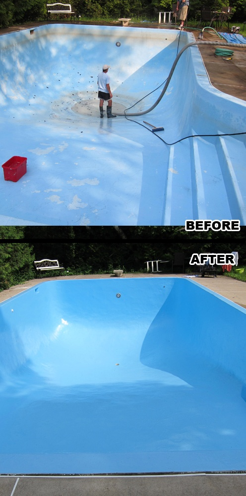Swimming Pool Pressure Washing : Best staining walkways around pools and houses images