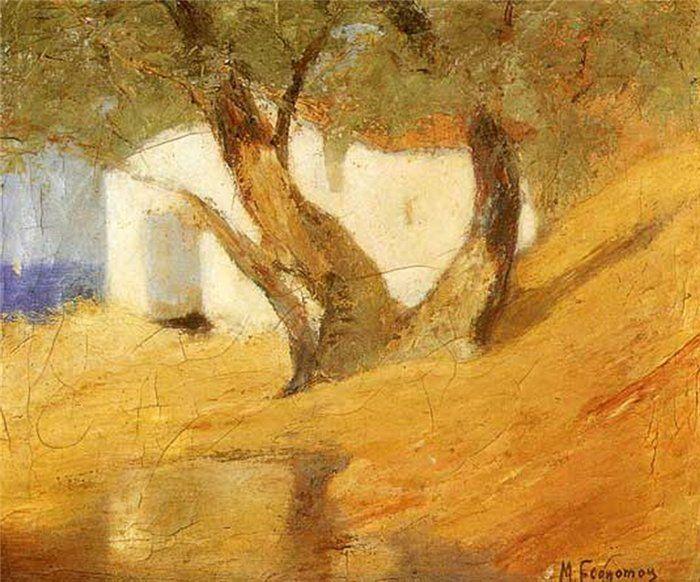 Ольга Левченко - Mihalis Economou - Οικονόμου Μιχάλης (Greek, 1888-1933)