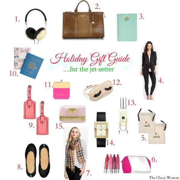 The Cly Woman Holiday Gift Guide For Jet Setter