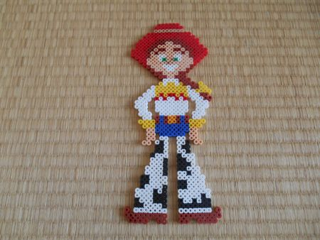 Jessie - Toy Story perler beads