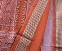 Orissa saris--very intricately woven. Mani got me one from Orissa--orange and black!