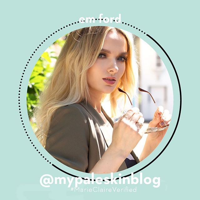 Next up on #MarieClaireVerified Em Ford (@mypaleskinblog). Her make-up tutorials on YouTube detailing how to cover up acne have changed lives and gone viral. Ford has since worked with Kylie Jenner.  via MARIE CLAIRE UK MAGAZINE OFFICIAL INSTAGRAM - Celebrity  Fashion  Haute Couture  Advertising  Culture  Beauty  Editorial Photography  Magazine Covers  Supermodels  Runway Models