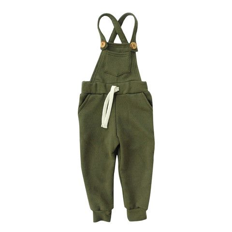 'Not So Basics' Comfy Overalls - mini mioche - organic infant clothing and kids clothes - made in Canada