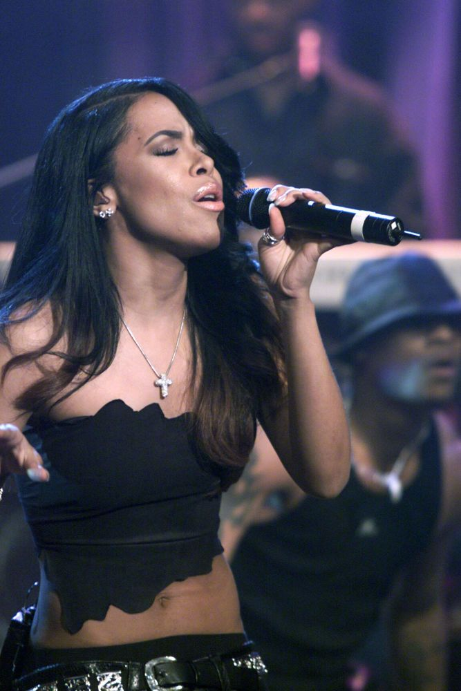 Aaliyah: Aaliyah's performances and legacy continue to influence new artists and music today. (Photo by Paul Drinkwater/Network/NBCU Photo Bank via Getty Images)
