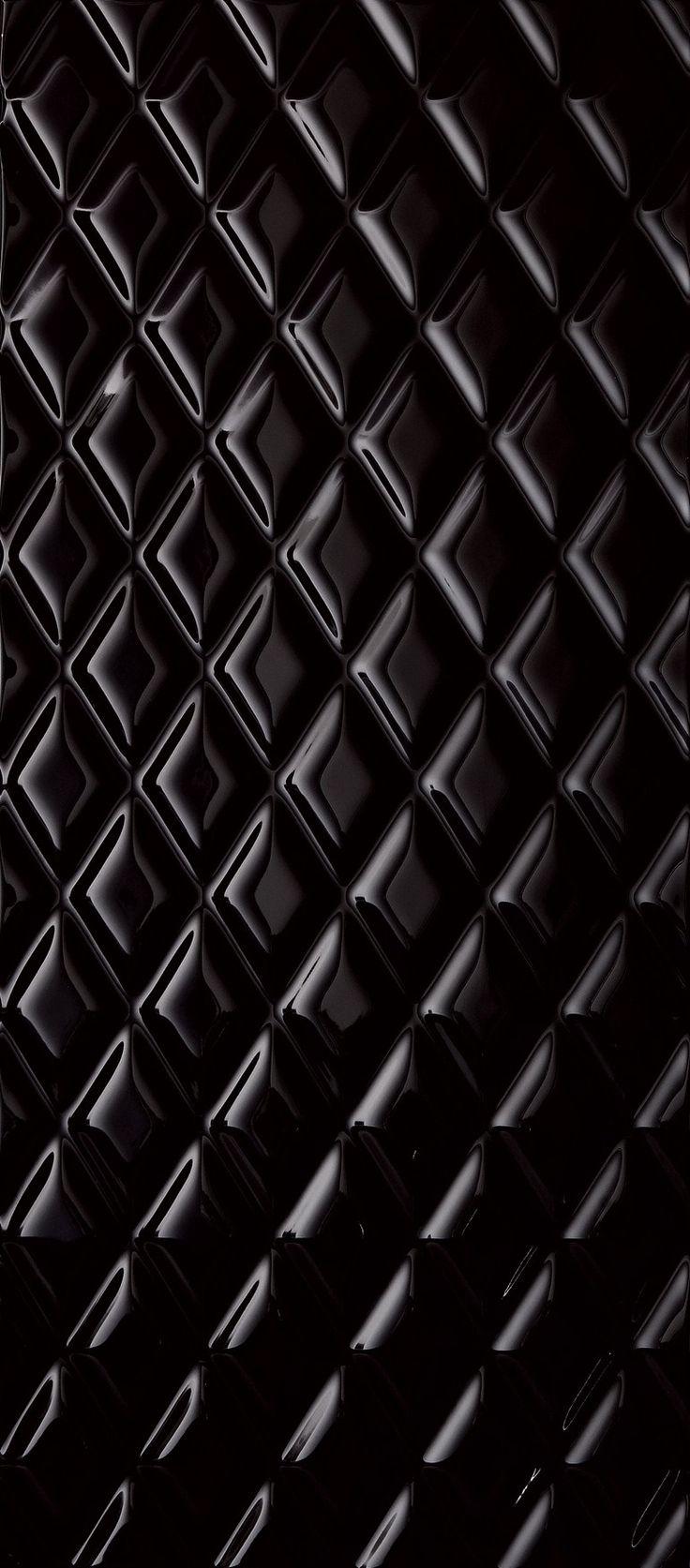 Indoor ceramic wall #tiles BIANCONERO by Impronta Ceramiche #black