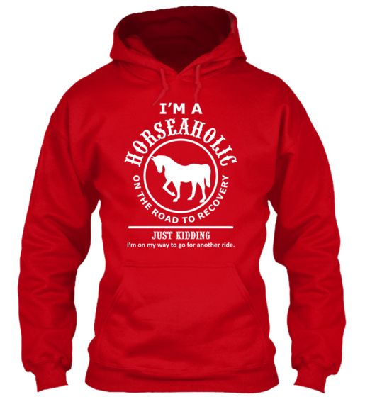 Horseaholic On The Road.... | Teespring