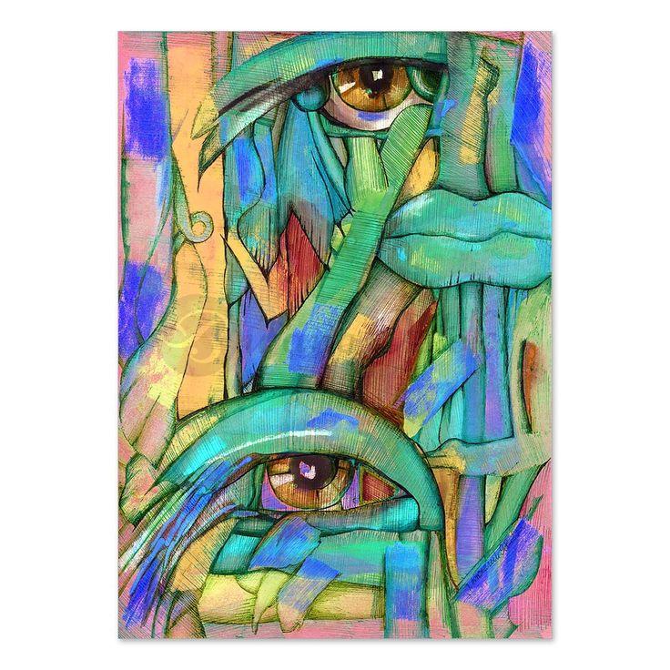 Pomaluj mój smutek | Grafika - druk artystyczny