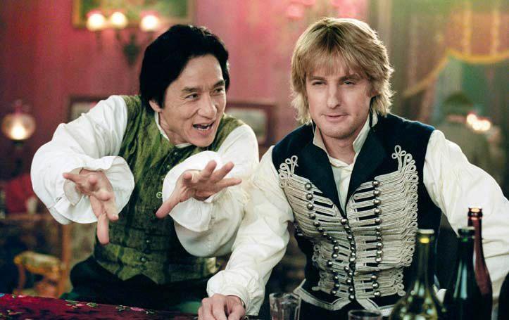 Джеки Чан и Оуэн Уилсон в фильме «Шанхайские рыцари».