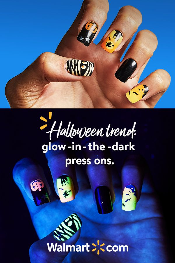 Nail your Halloween mani with the KISS imPRESS Nail Kit available at