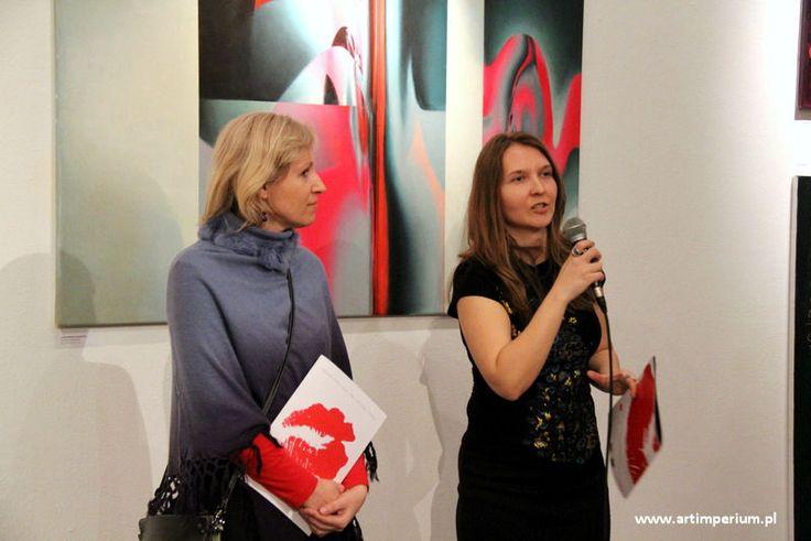 Edyta Dzierż i Anna Kossakowska