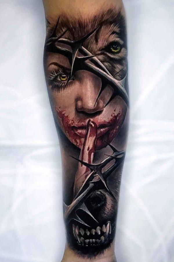 Cool Realism Tattoos By Sam Barber London United Kingdom London Tattoo Tattoo Artists Aesthetic Tattoo