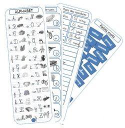 Les incollables - aide à l'écriture - mémos plus ludiques et plus simples que des sous-mains. Et en plus Crevette a mis le fichier modifiable ppt