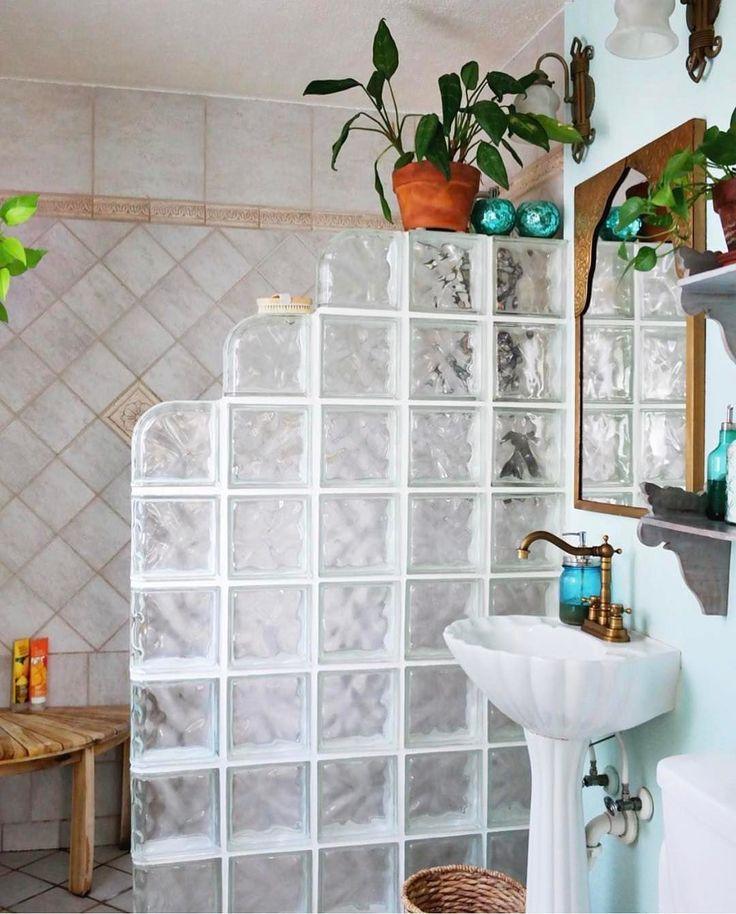 Best 25+ Glass Blocks Wall Ideas On Pinterest