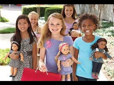 American girl doll videos stop motion NEW- American girl doll house tour...