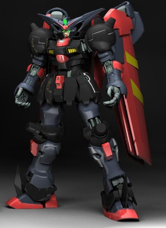 GF13-001NHII Master Gundam is a mobile fighter piloted by Master Asia. It appeared in Mobile Fighter G Gundam and is the only member of the Four Heavenly Kings not infested with DG-Cells.