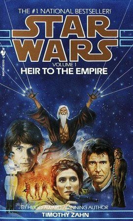 Heir to the Empire -- The one that started it all. Commissioned by George Lucas as he started writing the new prequels, this Timothy Zahn novel set the tone for the next decade of Star Wars spin-off writing. #ZahnPlotFirst #realcanon #EUforever